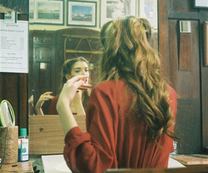 girl, pretty, and vintage image
