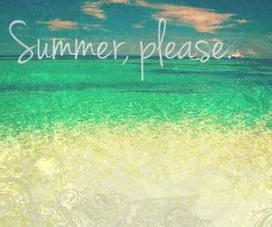 love, summer, and beach image