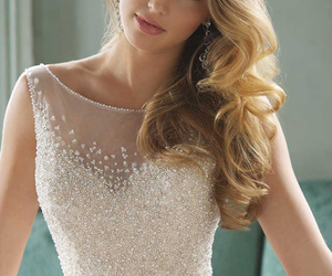 bridal, Couture, and gown image