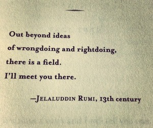 quote, Rumi, and you image