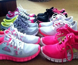 fashion, girly, and nike image