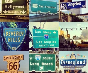 hollywood, Beverly Hills, and california image