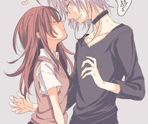 anime, anime couple, and kawaii image