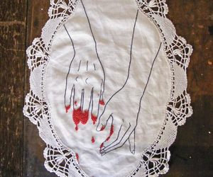 art and blood image