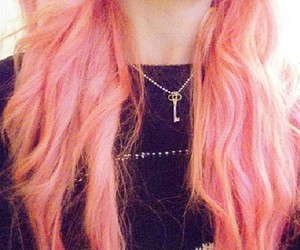 kawaii, pink hair, and dye hair image