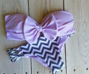 summer, bikini, and purple image