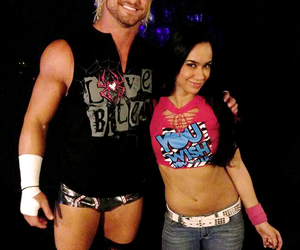 beautiful couple, wwe, and dolph ziggler image