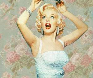 beauty, Marilyn Monroe, and retro image