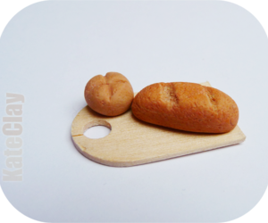 bread, fimo, and roll image