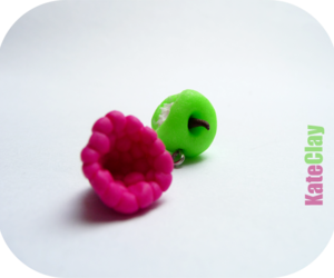 apple, fimo, and fruit image