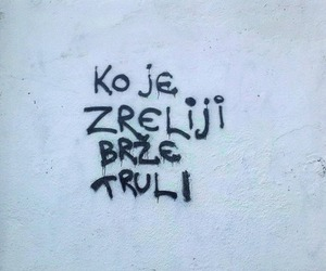 balkan, black and white, and text image