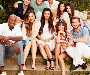 kim kardashian, kardashian, and family image