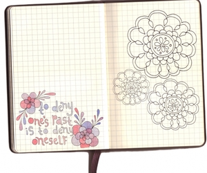 drawing, doodles, and quote image