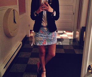 j. crew, preppy, and lilly pulitzer image