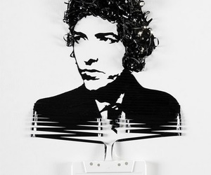 art, bob dylan, and cassette image