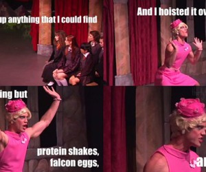 a very potter musical, funny, and harry potter image