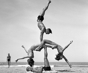 acrobatic, great photo, and beach image