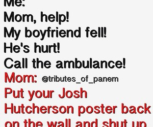 josh hutcherson, poster, and boyfriend image