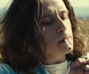 boy, long hair, and movies image