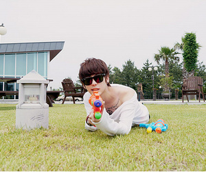 boy, korea, and korean fashion image