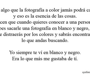 love, frases, and black and white image