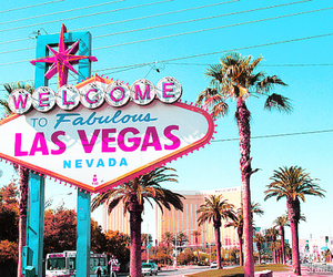 Las Vegas, Nevada, and pink image
