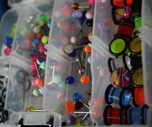 Plugs, gauges, and piercing image