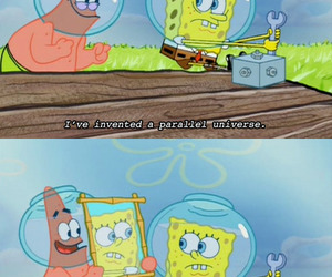 funny and spongebob squarepants image