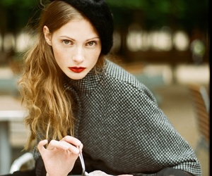 coffee, model, and paris image