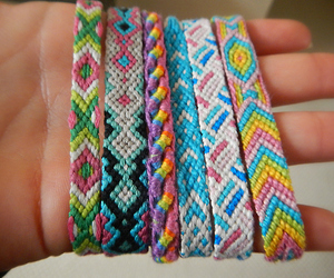 awesome, bracelets, and colorfull image