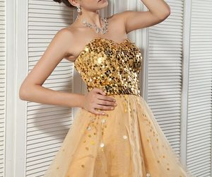 cute dress, dress, and party dress image