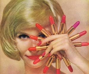 lipstick and vintage image