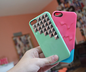case, cute, and pink image