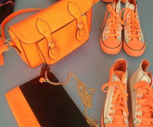 bags, fluo, and neon image