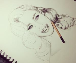 art, artist, and beautiful eyes image