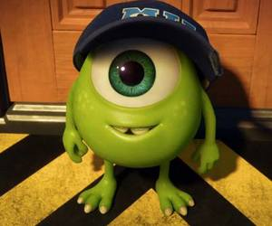 cute, mike, and monsters university image