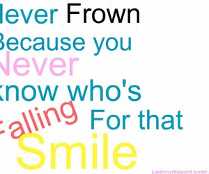 falling, Frown, and smile image
