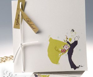 couple, invitations, and dancing image