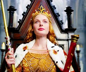 gif, the white queen, and rebecca ferguson image