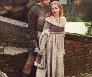 the white queen, max irons, and rebecca ferguson image