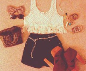 shoes, outfit, and clothing image
