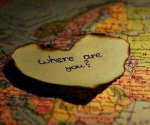 love, heart, and world image