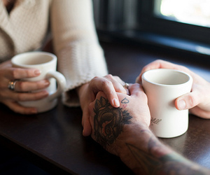 hands and tattoo image