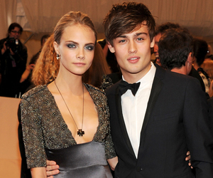cara delevingne, douglas booth, and model image