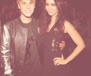 danger, justin bieber, and lily collins image