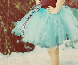 blue, skirt, and dress image