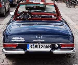 mercedes, car, and classic image