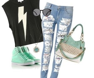 fashion, girl, and swag image