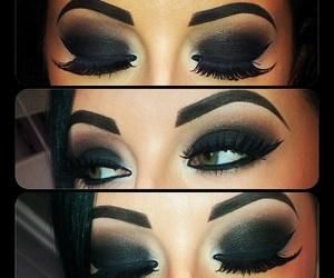 makeup and hot eyes image