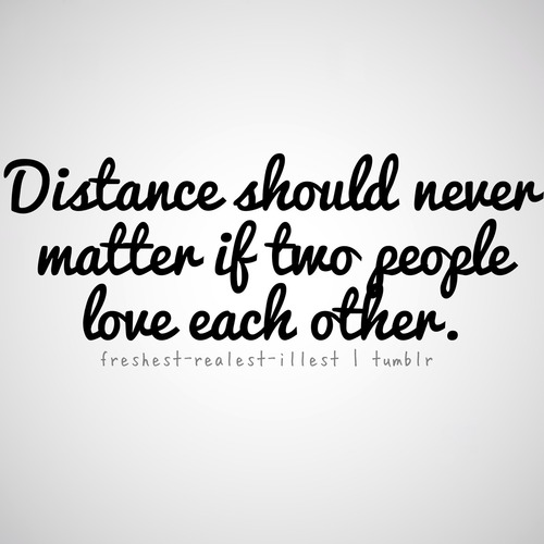 Long Distance Relationship Quotes Tumblr On We Heart It